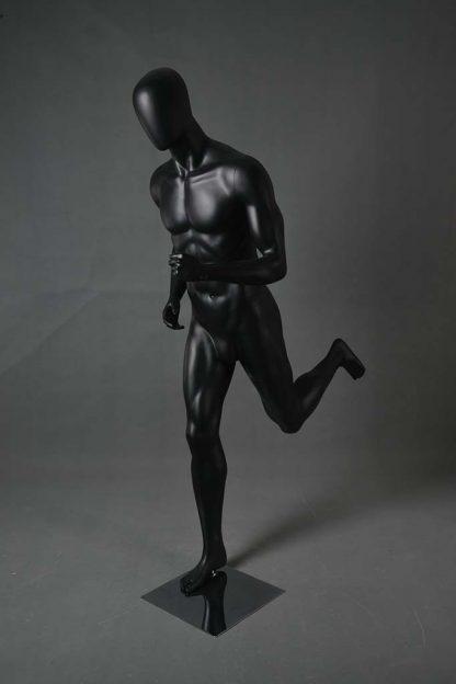 Maniqui deportivo atletico de hombre, corriendo