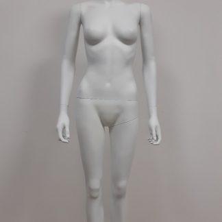 Maniquíes mujer cabeza abstracta blanco mate lacados